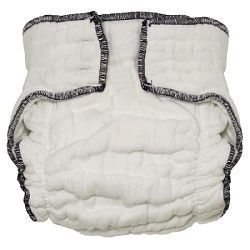 Nicki's Diapers Snapless Fitted Cloth Diaper