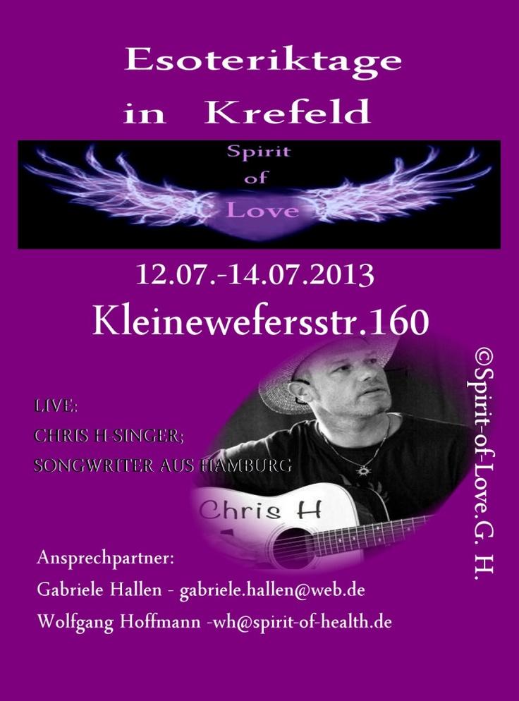 1. Krefelder Esoterikmesse 12.07.2013 - 14.07.2013