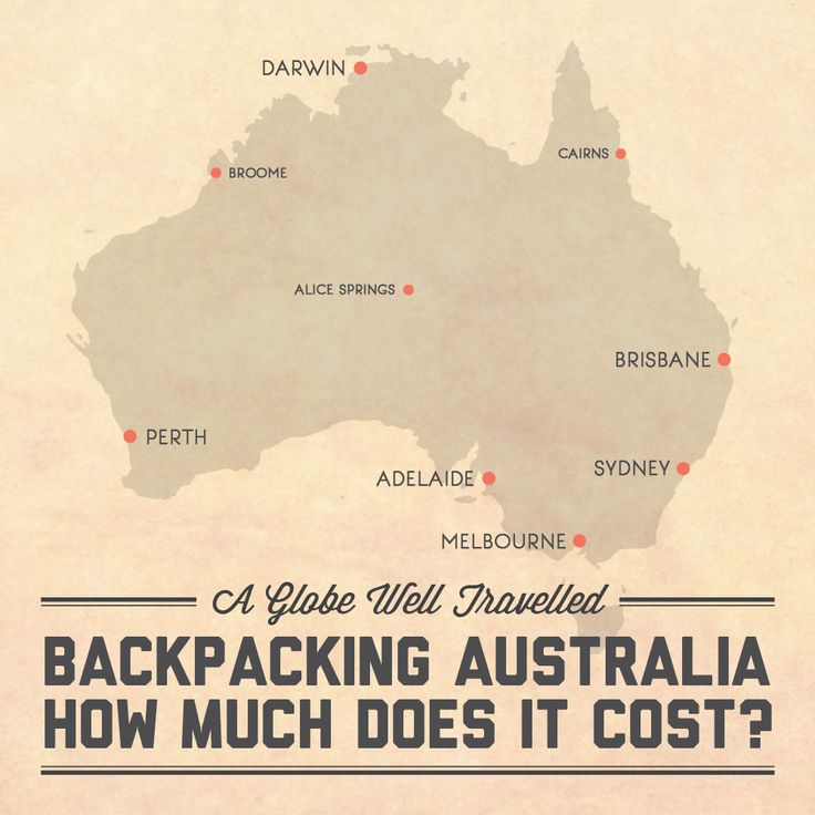 Backpacking Australia u2013 How much does it cost? Find out at A Globe Well Travelled