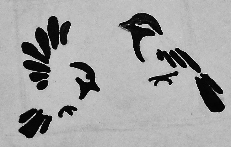 """rough sketch of possible wrist tattoo.... chickadees  """"though my little chickadees will someday grow and fly away, they'll always be a part of me"""""""