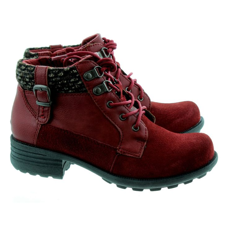 Shop the Earth Spirit Ladies Mobile Lace Ankle Boots In Red in Red at Jake Shoes. Get FREE next day delivery on all UK orders over £40!