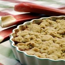 rhubarb crumble- had this in sweden and had a hard time finding a recipe, now i just have to translate this.....