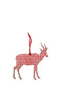 GEOMETRIC BUCK CHRISTMAS DECORATION