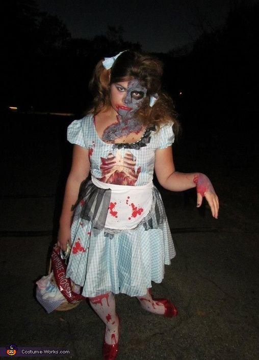 Zombie Dorothy - Halloween Costume Contest via @costumeworks