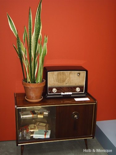 """Knus jaren 50 """"HiFi"""" meubel"""