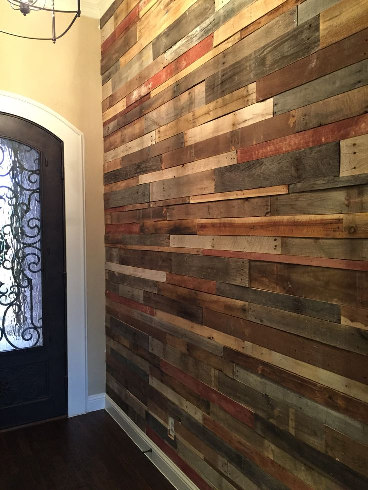 Pallet Wall ️ In 2019 Wooden Wall Art Palette Wall