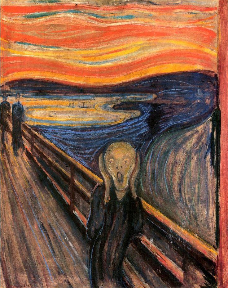 The Scream by Edvard Munch - a critical analysis