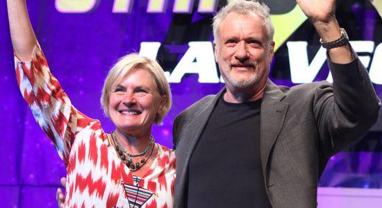Star Trek Las Vegas Convention 2016 - TNG Panel: Denise Crosby, John De Lancie