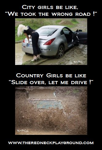 Guess I'm a city girl, but a wannabe country girl!