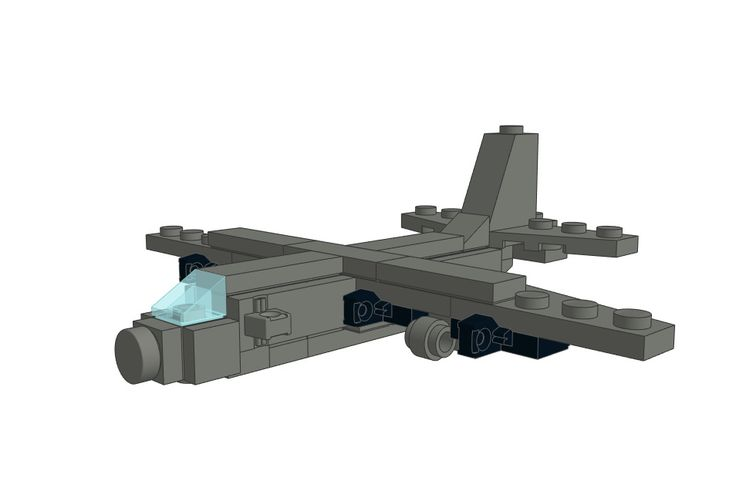 Download the LEGO Lockheed Hercules C-130 Aircraft on our website and build it with your LEGO collection!