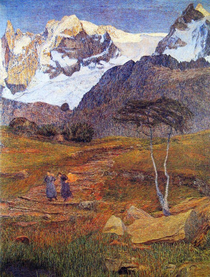 Giovanni Segantini ~ Divisionismo italiano / Neo-Impressionismo | Tutt'Art @