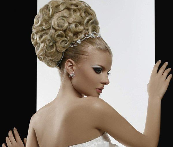 Classic Bridal Updo Hairstyle : 36 best classic bridal updo images on pinterest