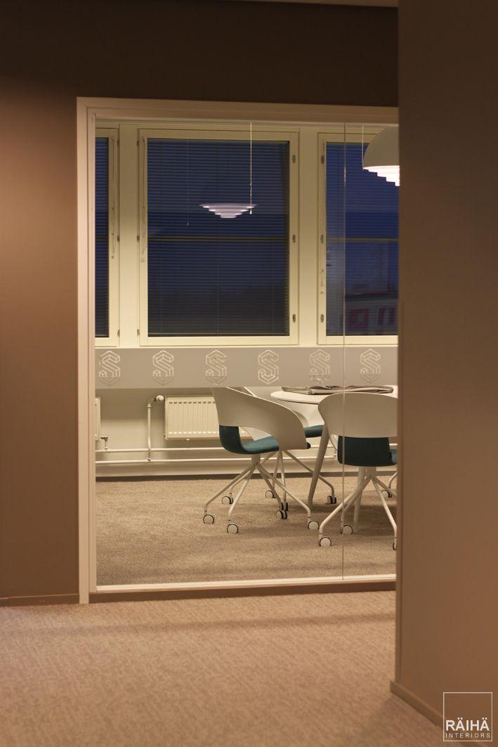 interior architecture by RÄIHÄ interiors   office design, modern office, go-working, meeting, trend colors 2017. Interior design Päivi&Lars Räihä, 2016