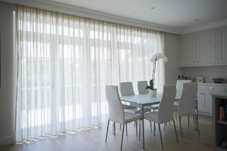 Image result for bi fold doors curtains or blinds?