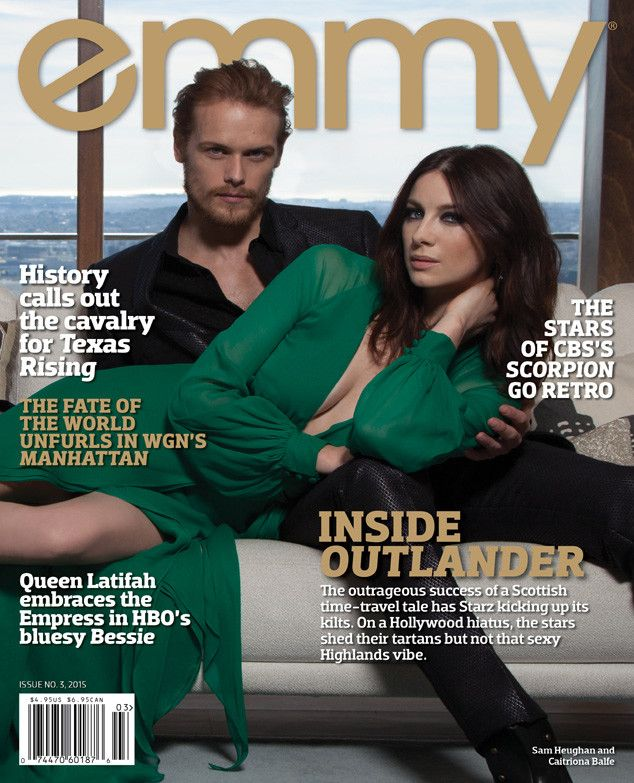 Could Outlander's Caitriona Balfe and Sam Heughan Be Any More Stunning? Swoon Over These New Pics  Outlander, emmy Magazine
