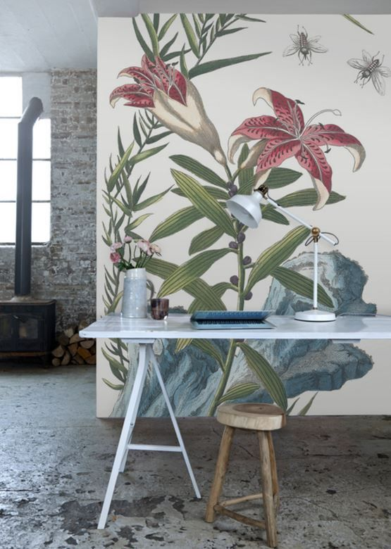 17 best ideas about flower mural on pinterest murals for Mural de chine