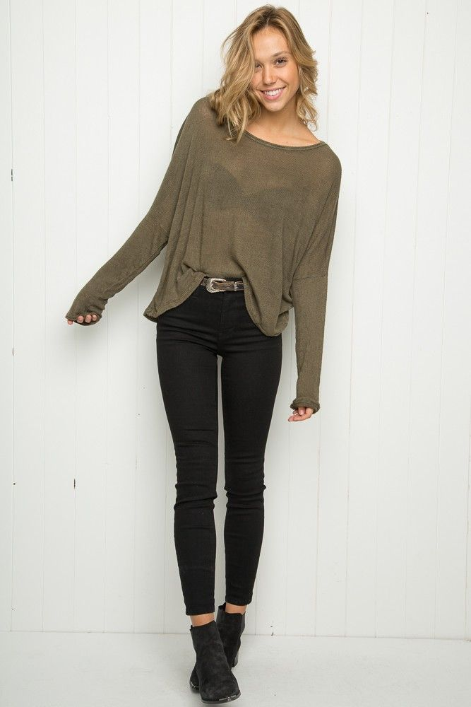 Brandy ♥ Melville | Jazlene Knit Top - Just In