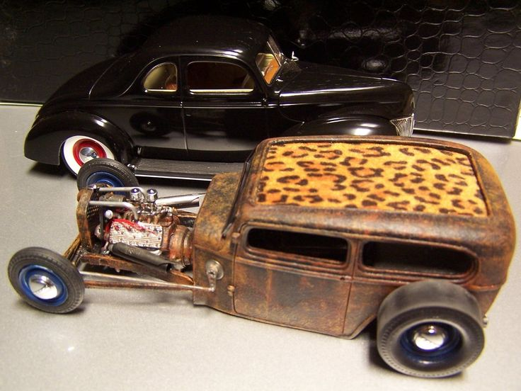 Slots Aluminum Street Rod : Scale ford rat rod orange crate body pickup