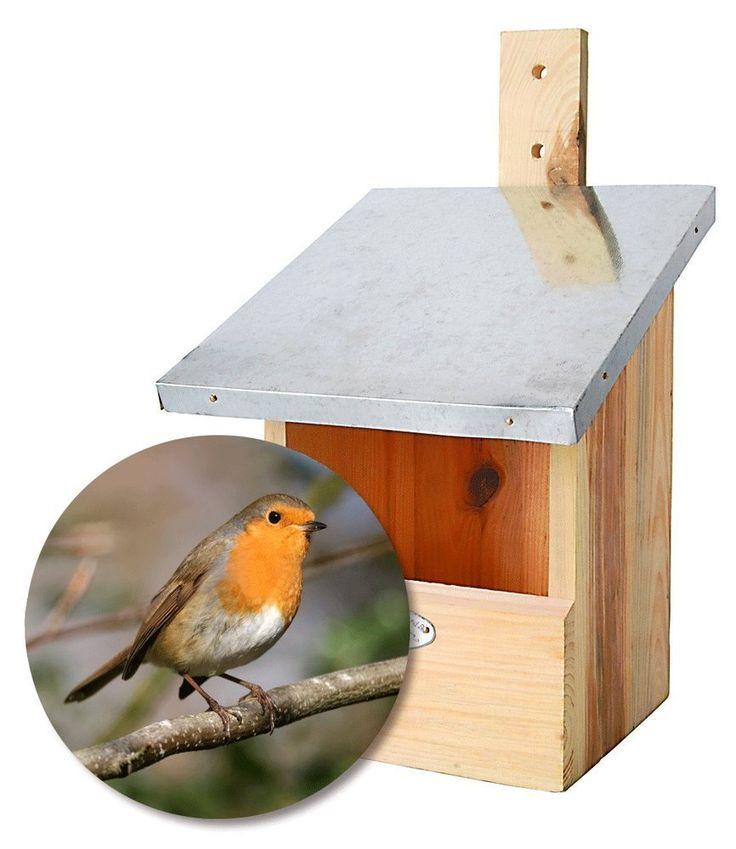 jardi depot nichoirs pour oiseaux nichoir rouge gorge. Black Bedroom Furniture Sets. Home Design Ideas