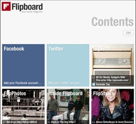 Flipboard offers iPad users an entirely original alternative to browsing the Web for news; its magazine-style layouts and breathtaking use of photos and white space show the way forward for digital media.