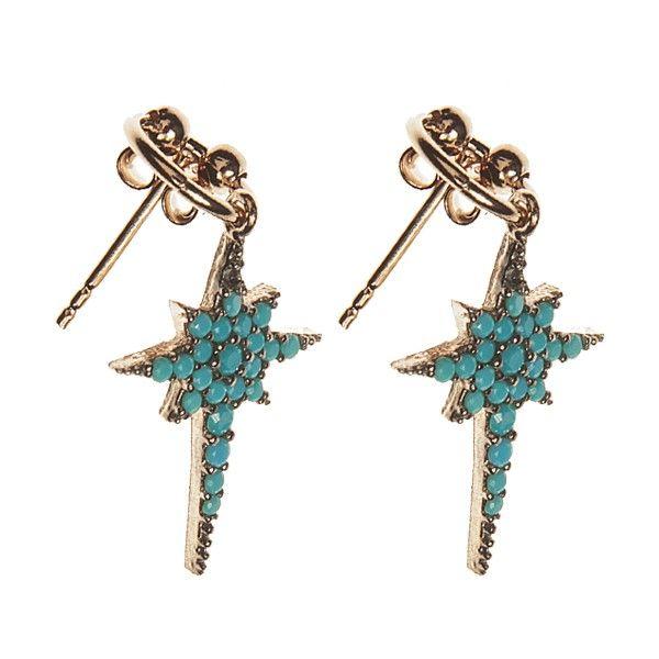 YC Jewels by Yolanthe Cabau - YC Blue Earring - YCJ8012 - YC Jewels