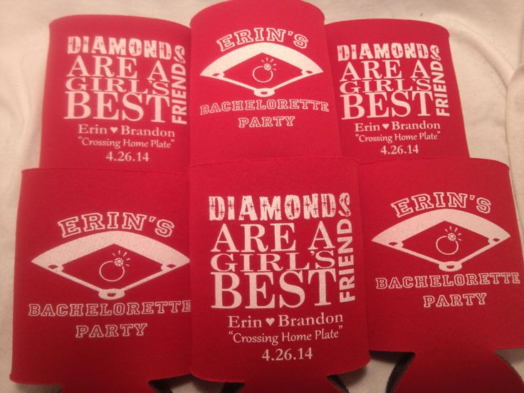 Diamonds are a girls best friend bachelorette theme party