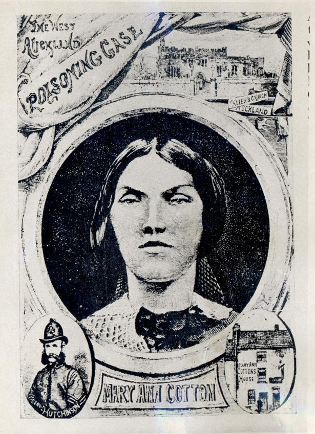 How murderer Mary Ann Cotton was depicted in Victorian times