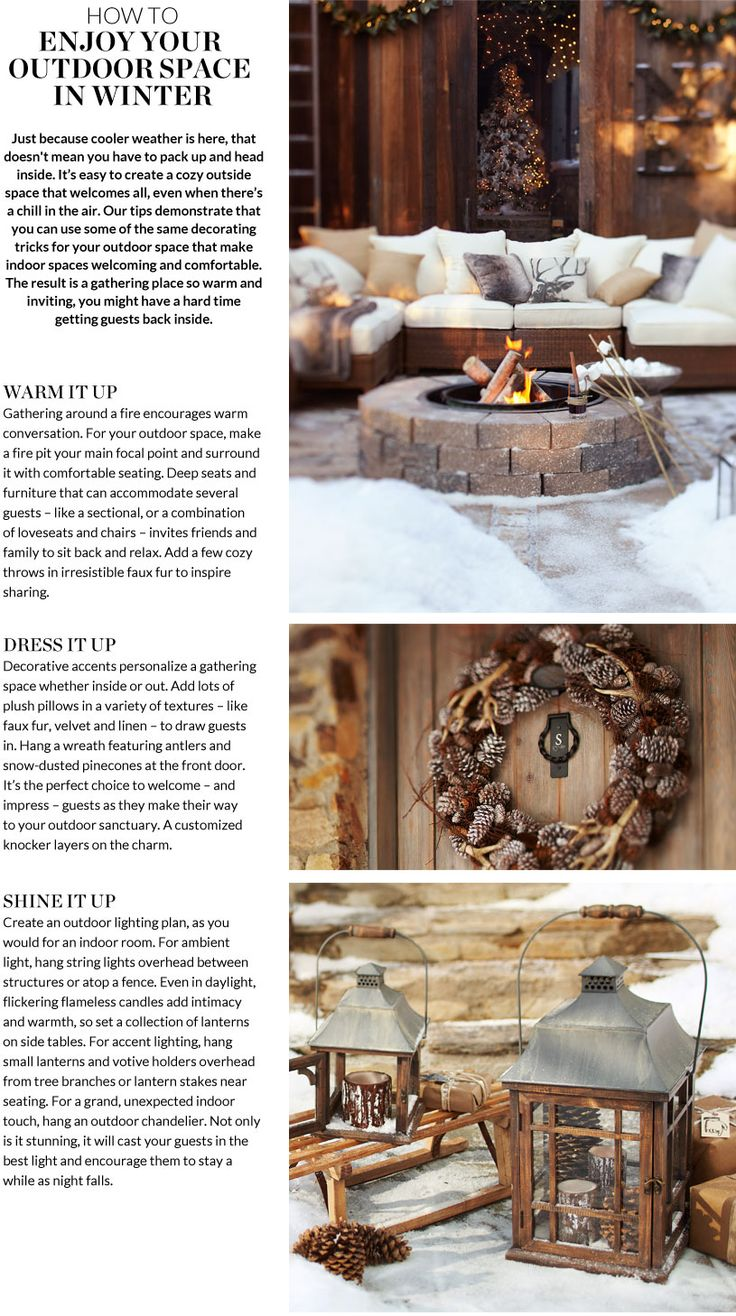 59 best winter outdoor spaces fireplaces images on pinterest