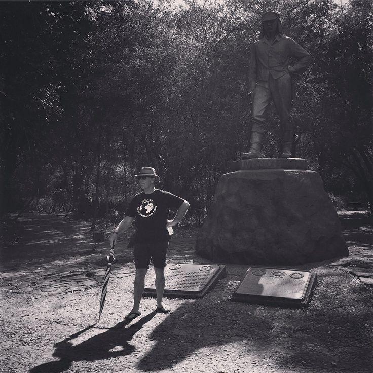 Our own #Livingstone #wanderlust #adventuretravel #victoriafalls