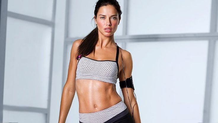 Adriana Lima Workout By Herself  | Official HD Video - 2014