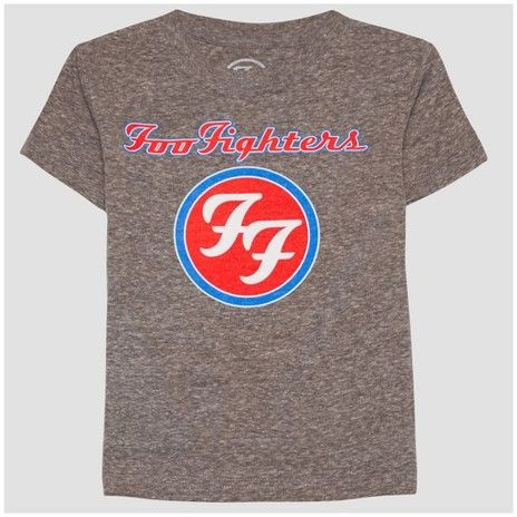 Hybrid Tees Toddler Boys' Foo Fighter American Fighter Short Sleeve T-Shirt - Athletic Heather
