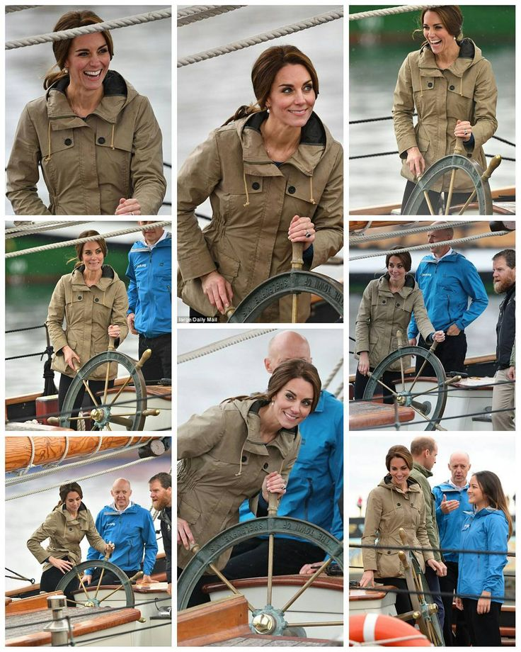 #NEWS #NEW #TODAY For the final day of their royal tour of Canada, the Duke and Duchess arrived in Victoria, Canada. Their third engagement was for sailing from Ogden Point into Victoria's Inner Harbour on the tall ship Pacific Grace. Kate wore a Troy London Wax Parka. 1 October 2016 . . . #finaldayoftheroyaltour #royaltourofcanada . . . . #picoftheday #postoftheday #bestoftheday #Katemiddleton #theduchess #duchessofcambridge #royals #Catherine #elizabeth #princewilliam #beautiful…