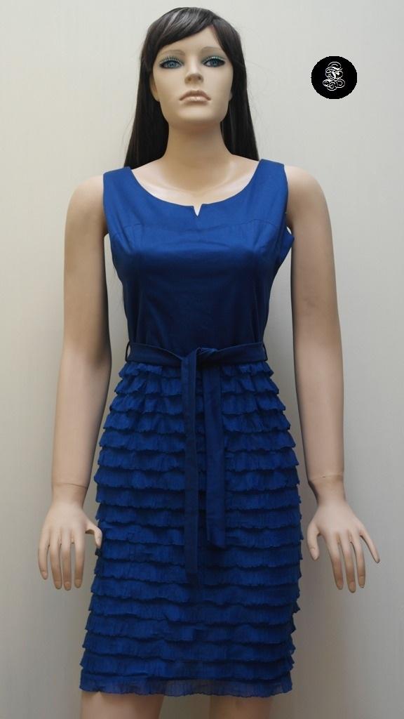 Vestido F azulino