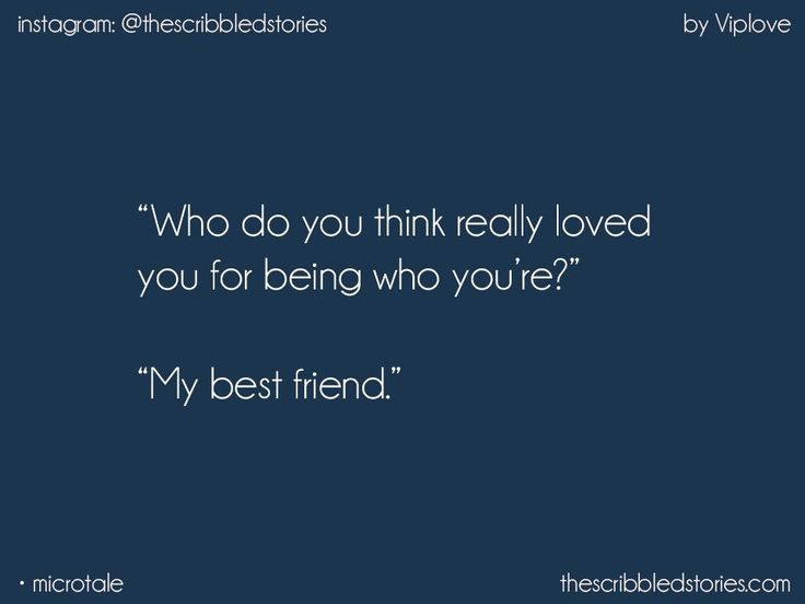 That's why we fall in love with our best friends...