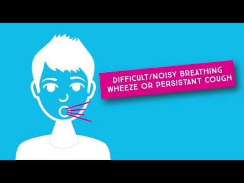 Signs and symptoms of an allergic reaction - YouTube