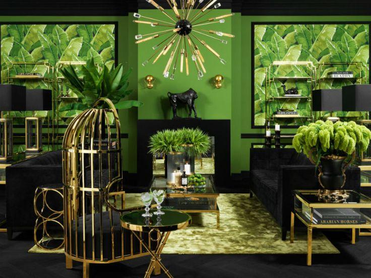 Зеленый в интерьере | ARTIS - дизайн интерьера