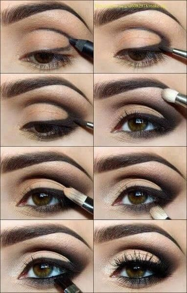 How To Define The Outer 'V' Eyeshadow