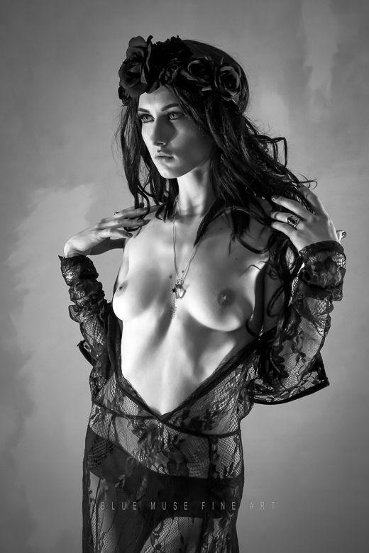 Blue Muse Fine Art  Model: Scarlett Paige  #fineart #model #lace #studio #bluemuse #bluemusefineart #fashion #style #art #love