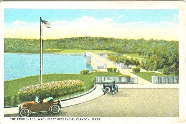 Clinton MA The Promenade, Wachusett Reservoir  | eBay