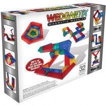 Wedgits Construction - Wedgnetix Set 32 piece