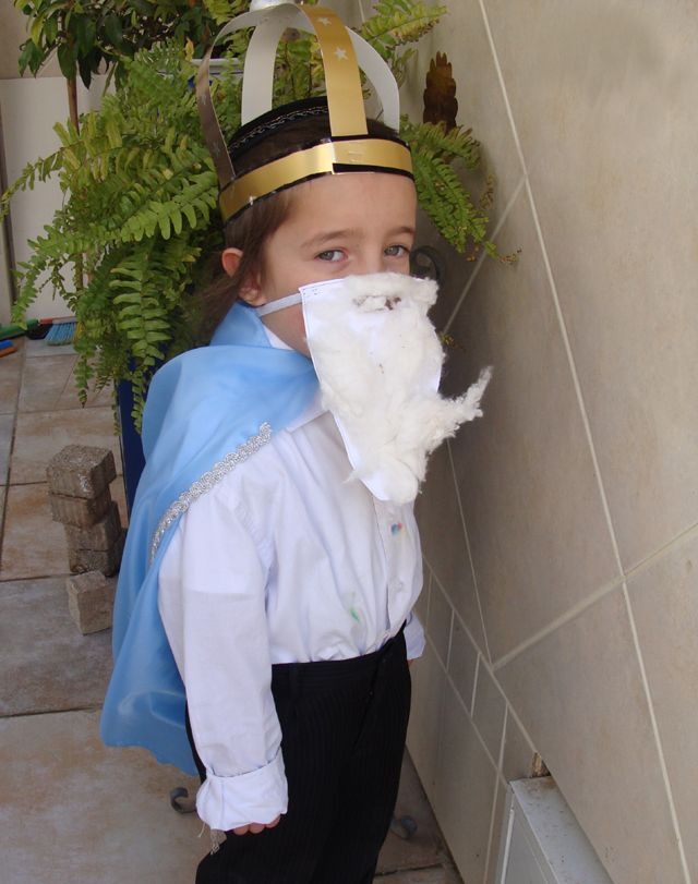 A Quick Purim Costume From the Classroom! - creative jewish mom