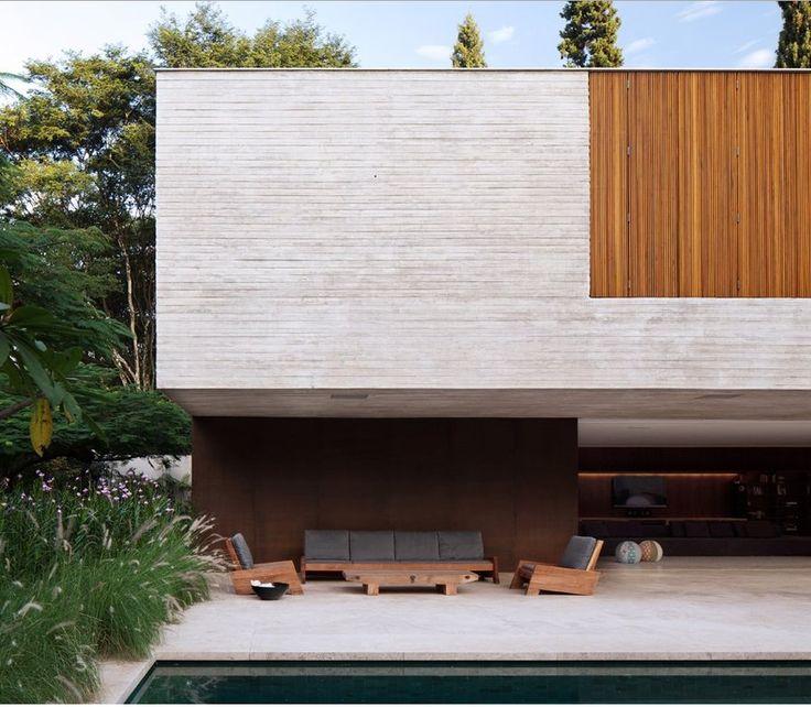 Casa dos ip s por marcio kogan architecture for Marcio kogan plans
