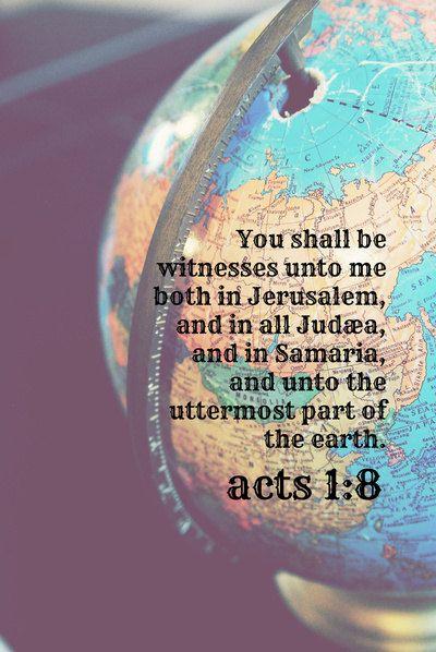 Acts 1:8 (1611 KJV !!!!)