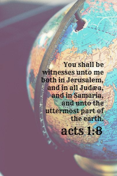 Matthew 24:. 14 And this good news of the Kingdom will be preached in all the inhabited earth for a witness to all the nations, and then the end will come.