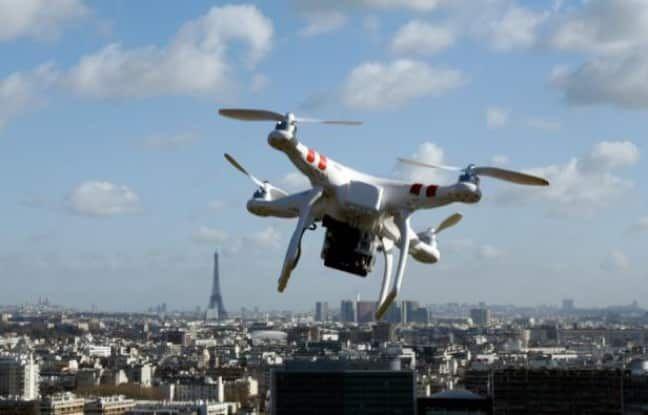 Lorsque les drones deviennent des radars ! #radar #drones #france #ete2017