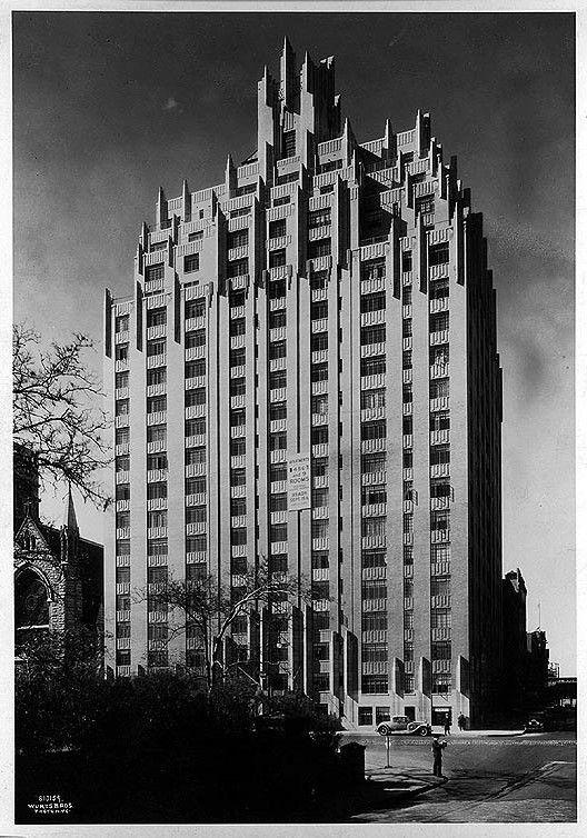 55 Central Park West (Dana Barrett, apt building), Designed by Schwartz & Gross 1930 #Ghostbusters