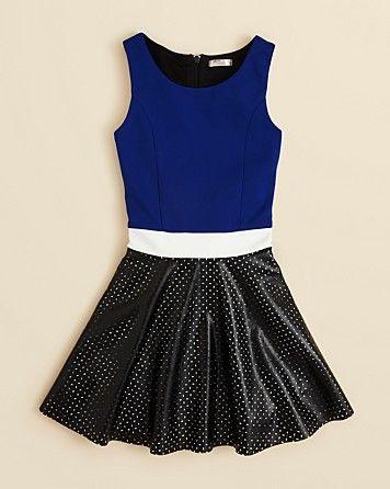 Sally Miller Girls' Laser Cut Skater Dress - Sizes S-XL | Bloomingdale's