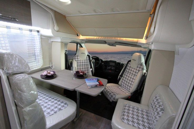 Wingamm Oasi 610 Garage In A Brand New Stylish Patagonia Sukey Outfit Camper Beds Compact Living Home