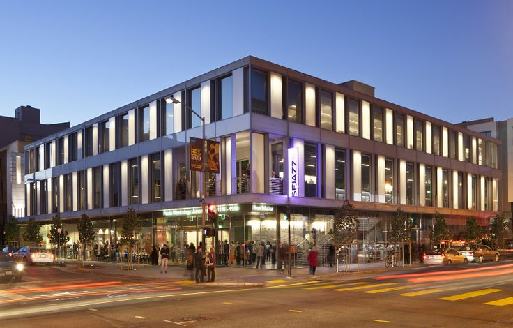 SFJAZZ Center in San Francisco, #LEED Gold