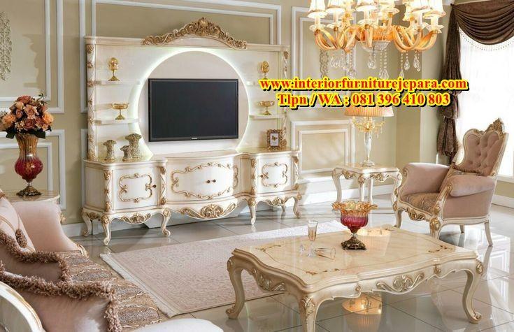 Bufet Tv Italian Mewah Bufet Ruangan Rumah #rana #furniture #living #room